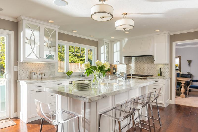 Julie Miller Designs Walnut Creek Kitchen