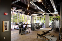 Iron Construction Equity Office Fitness Center